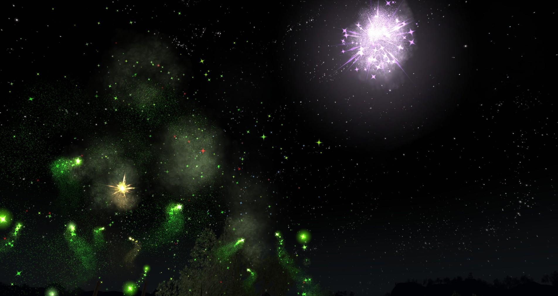 LotRO fireworks